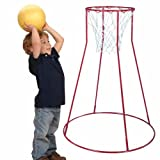 Constructive Playthings RIM-4 Portable Basketball Hoop For Children