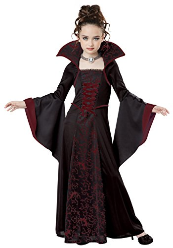 California Costumes Royal Vampire Costume, Medium, Black/Red