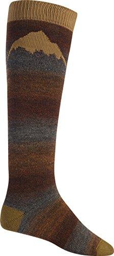 (Burton Men's Merino Emblem Snowboard Socks Chestnut Size Medium US 7.5-10.5)