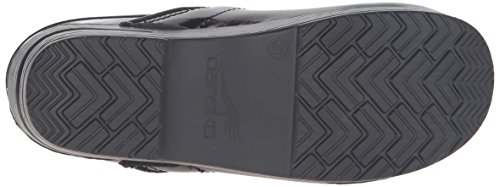 Dansko Women's Professional Mule, Black Marbled Patent, 39 M EU / 8.5-9 B(M) US by Dansko (Image #3)
