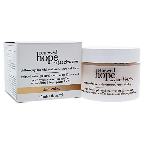 Philosophy renewed hope in a jar skin tint spf 20 (1.0) - shade 2.5 ivory