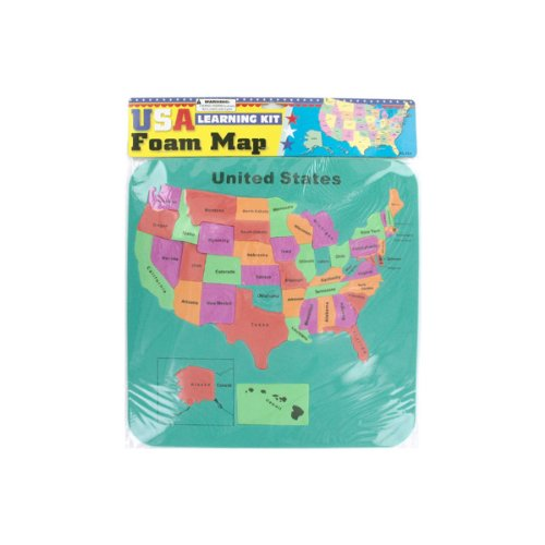 (Usa Foam Map Set)