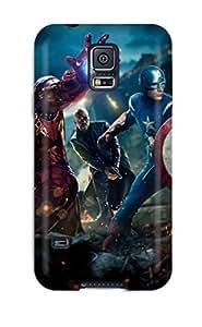 New The Avengers Movie 2012 Tpu Case Cover, Anti-scratch TnQfQgN800ZaQvj Phone Case For Galaxy S5