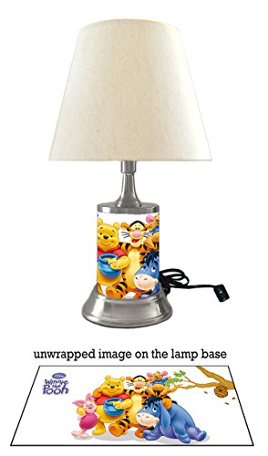 Disney Winnie The Pooh Lamp with Shade ()