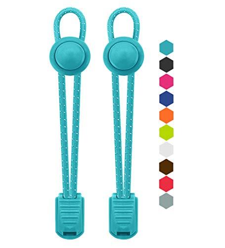 VESONNY Elastic Tie Shoelaces Reflective