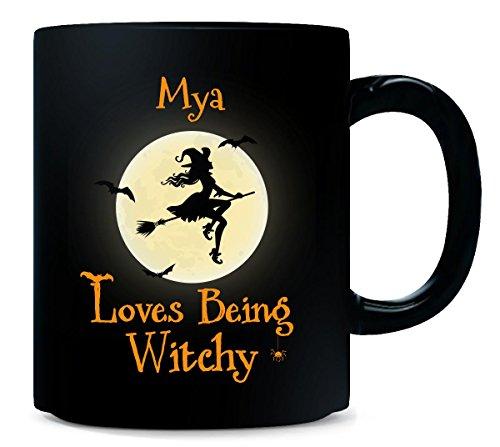(Mya Loves Being Witchy Halloween Gift -)