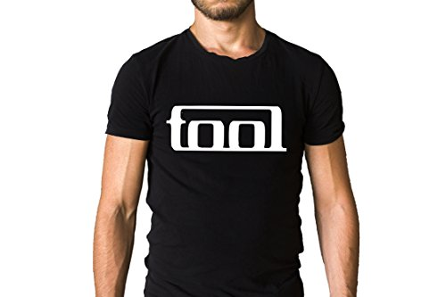 Tool LA Rock Band Title Logo T-Shirt - Art Rock, Alternative Metal, Progressive Metal, Progressive Rock (Alternative Band T-shirts)