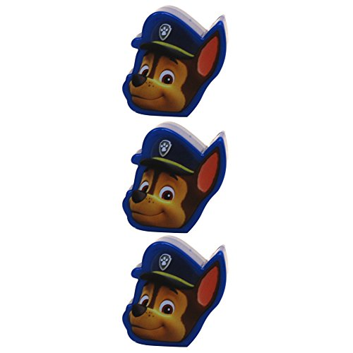 (Paw Patrol Chase 3 Count Figural Easter Egg Treat Containers)