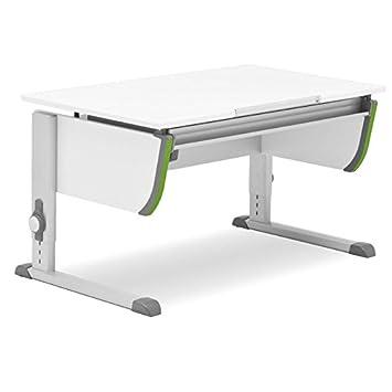 Kinderschreibtisch weiß höhenverstellbar  Moll Schreibtisch Joker | weiß | Höhenverstellbar von 53- 82 cm ...