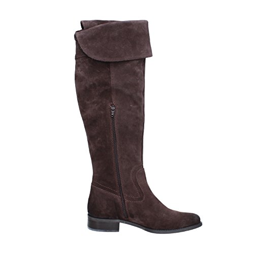 Black PAPRIKA 7 Brown Boots Woman EU Brown 37 Suede Dark Dark US q7IAwH7