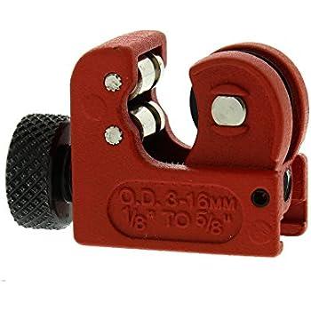 STANLEY Mini Tubing Cutter Copper Pipe Plumbing Brake Line Cutting PVC Brass
