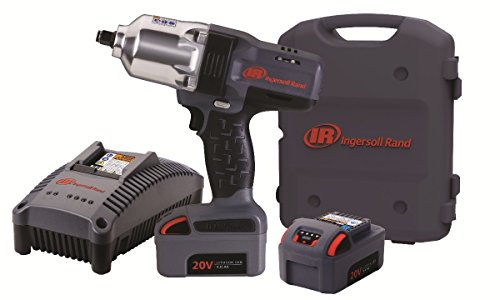 (Ingersoll Rand W7150-K2 1/2-Inch High-Torque Impactool, Charger, 2 Li-ion Batteries and Case Kit)