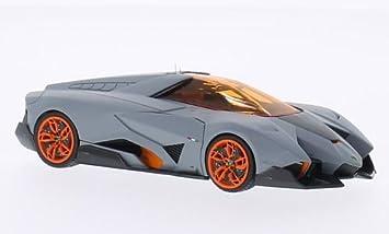 Lamborghini Egoista Matt Grey Orange Model Car Ready Made Look