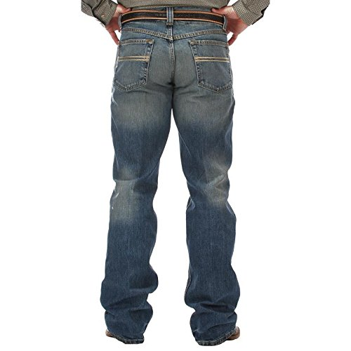 Cinch Men's Jeans Carter Relaxed Fit Med Stone 40W x 32L