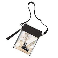 Greenpine Clear Cross-body Purse Bag-Cle...