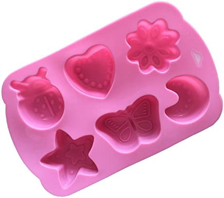 Ruikey モールド シリコーン製  昆虫や月モールド お菓子、ケーキ、チョコレート 鋳型 レジン、粘土、 キャンドル、シリコンモールド 抜き型 フォンダンモールド 可愛い