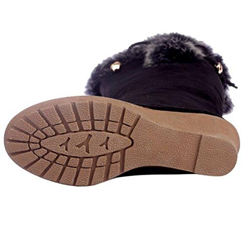 AIYOUMEI Women's Classic Boot Black l3swvUBqGj