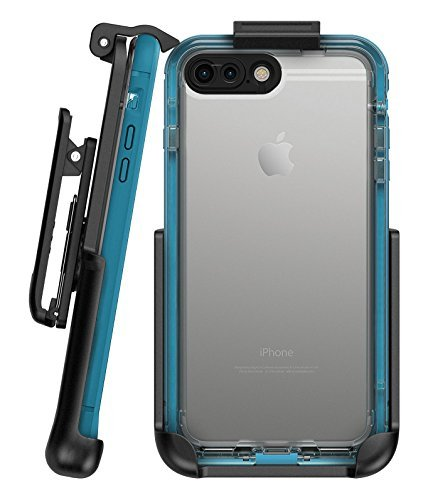 "Belt Clip Holster for Lifeproof Nuud Case - iPhone 7 Plus (5.5"") by Encased (case sold separately)"