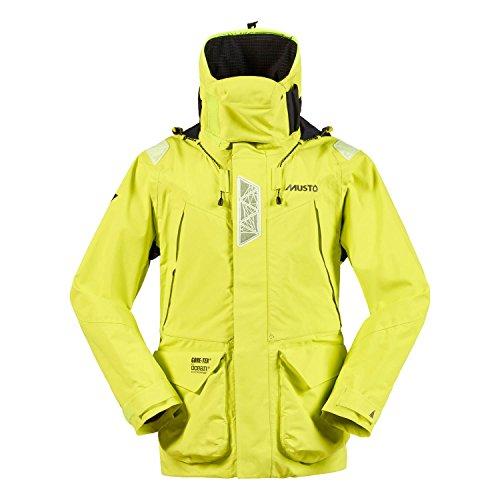 2016 Musto HPX Ocean Jacket Sulphur Spring/Black SH1651