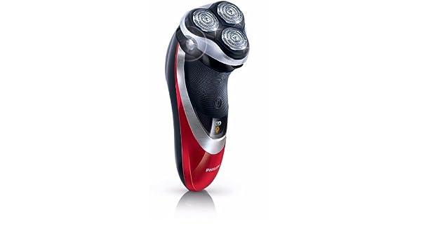 Philips PT925 - Afeitadora (Rotación, 3 piezas, Negro, Rojo, Batería, Ión de litio, 1h): Amazon.es: Salud y cuidado personal