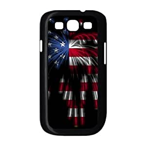 Cases for Samsung Galaxy S3, the National Flag Like Fireworks Cases for Samsung Galaxy S3, Sexyass Black