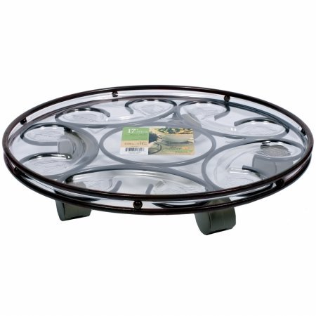 Plastec Sc17rt 17'' Rust Deluxe Saucer Caddy™ by Plastec