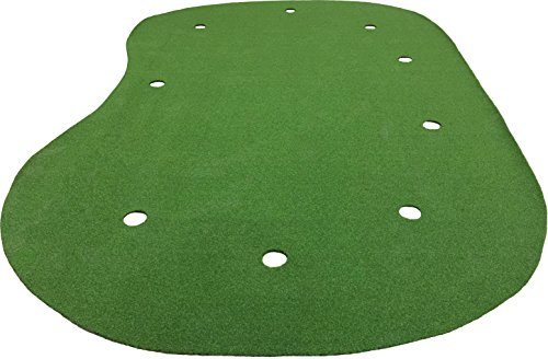 9 Feet x 15 Feet Professional Synthetic Turf Nylon Practice Putting Green
