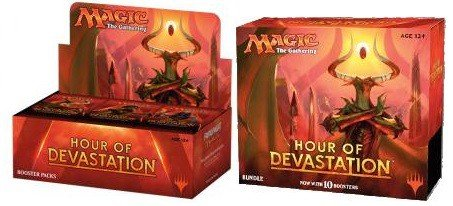 Magic Hour Of Devastation Booster Box + Bundle! MTG Combo Deal