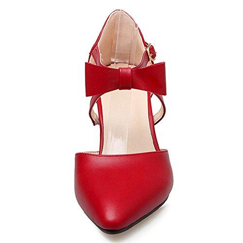 mujer Para Rojo altos DecoStain tacones tPwqEv1Rx
