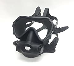 The Spectrum Full Face Mask by OTS created the best Full Face Mask on the market that allows divers to user their own regulators and eliminating the heavy cost associated with standard FFMs, without sacrificing luxury. The Spectrum Full Face ...