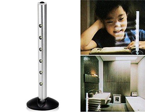 [2 Pcs 4-LED Column Lamp Aluminum alloy Super bright white LED light] (Sneakers Avec Costume)