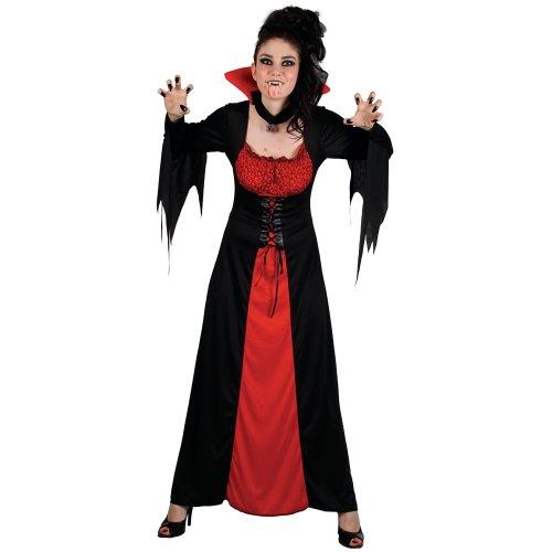 Classic Vampiress - Adult Costume Lady : X SMALL