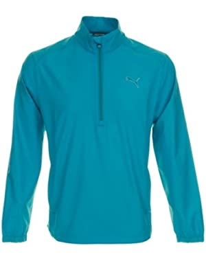 Golf Men's 1/2 Zip Wind Jacket - S - Blue Bird