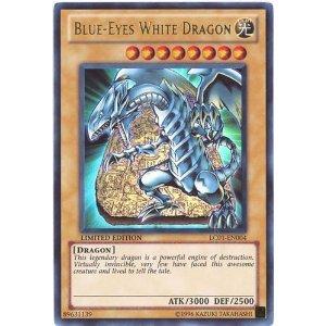 Amazon.com: Yu-Gi-Oh! - Blue-Eyes White Dragon (LC01-EN004 ...