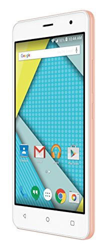 Plum  5″ Unlocked Smart Cell Phone 4G GSM Android 6.1 Quad Core 8+1 GB Memory 8 MPX Camera Global Ready – Rose Gold