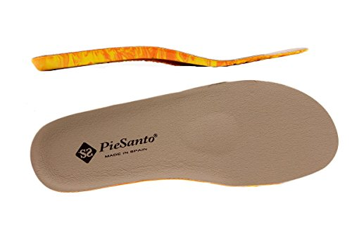Calzado mujer confort de piel Piesanto 1155 Sandalia Plantilla Extraíble cómodo ancho Visón