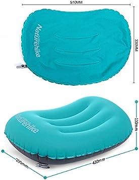 Oreiller portable Coussin de camping gonflable Une texture soyeuse et douce Pliable jusqu/à /être minuscule activit/és en plein air et voyage