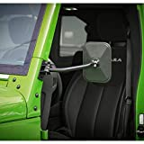 Voodonala for Jeep Reflection Mirrors Rectangular