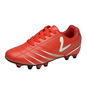 Larcia Youth Red Soccer Cleat (3)