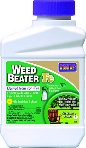 Bonide 323 Weed Killer, Clear - Concentrate Iron
