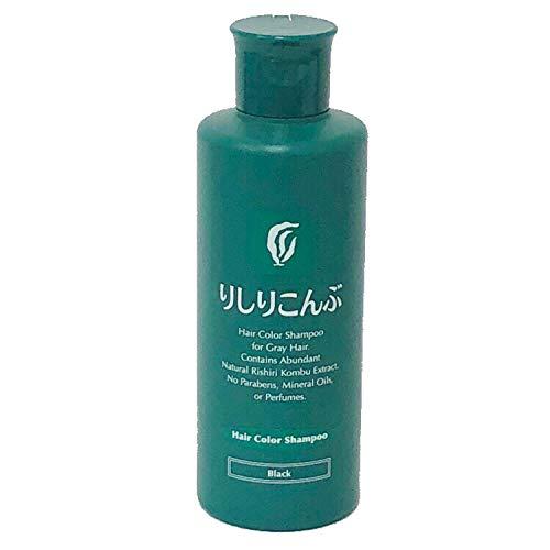 Rishiri Hair Color Shampoo (Black) 6.7fl Oz
