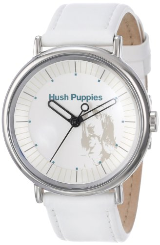 Hush Puppies Women's HP.3760L.2501 Signature Round Stainless Steel Genuine Leather Watch