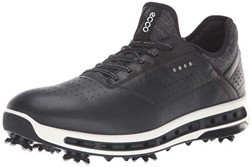 (ECCO Men's Cool 18 Gore-tex Golf Shoe, Black, 8 M US)