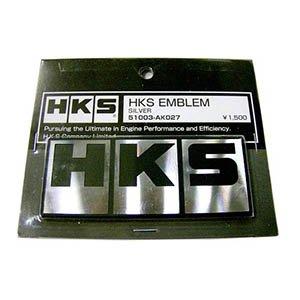 HKS 51003-AK027 Block Logo Emblem