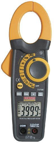 Craftsman 34-73756 Professional True Root Mean Square Alternating Current and Direct Current Clamp Ammeter by Craftsman
