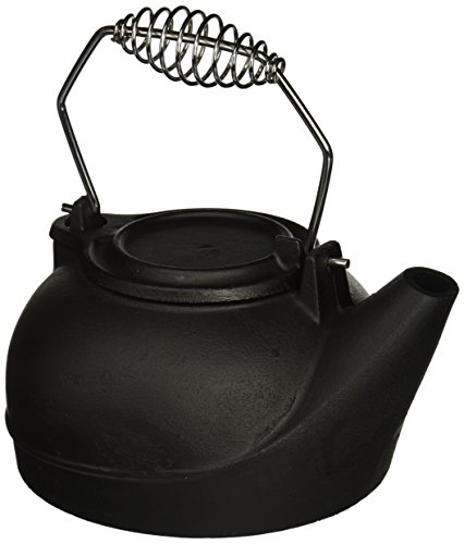 Wood Stove Steamer - Panacea Products 15321 Humidifying Iron Kettle
