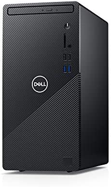 Dell Inspiron Desktop 3880 - Intel Core i3 10th Gen, 8GB Memory, 1 TB Drive, Windows 10 Home (Latest Model) - Black