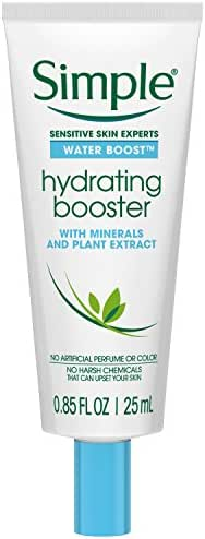 Simple Water Boost Hydrating Booster, Sensitive Skin 0.85 Fl Oz (Pack of 1)