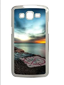 Hdr Sunset PC Case Cover for Samsung Grand 2 and Samsung Grand 7106 Transparent