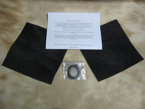 Trampoline Mat Repair Kit - Repair Holes or Tears -Two Repair Patches
